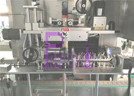 High Efficiency Glass Bottle Labeling Machine With Steam Generator 9KW