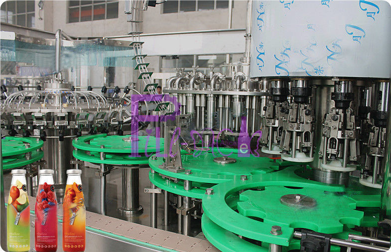 Aseptic Bottled Hot Filling Machine Stainless Steel Rotary Filling Machine
