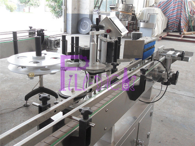 Self-adhesive round Plastic / Glass bottle Labeling machine