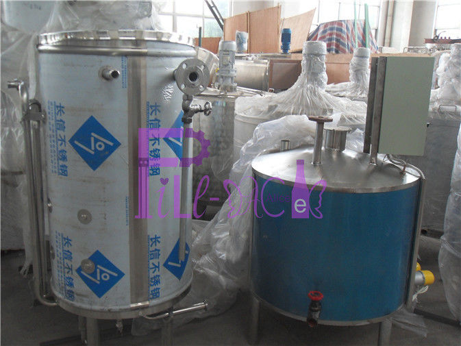 1 T/H Electric Heating UHT Sterilizer For Beverage Production Line Coil Type