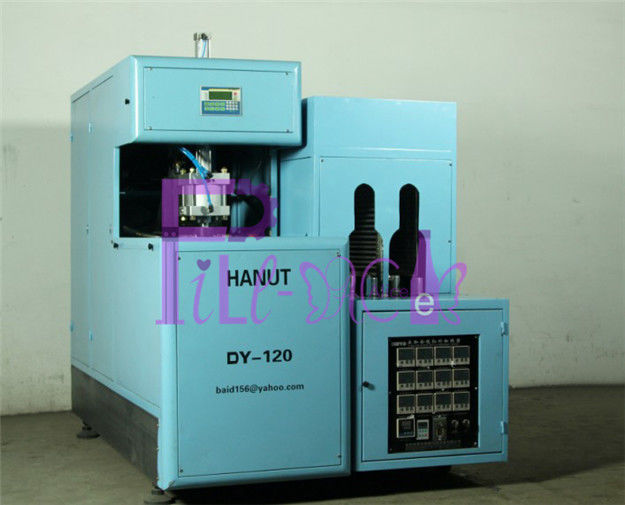 Semi Auto Gallon Bottle Blowing Machine Plastic Stretch Molding Equipment