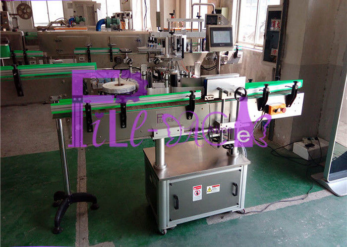 Single Head Automatic Bottle Labeling Machine , High Speed 40~180 b/min