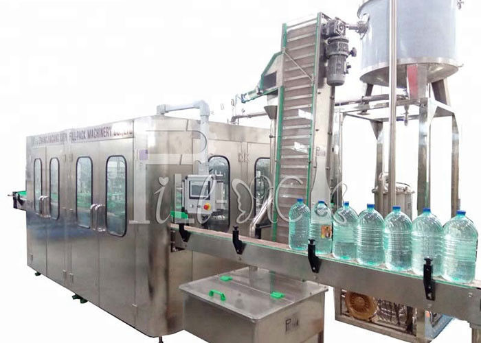 3L / 5L / 10L Mineral Water Plastic Bottle 2 In 1 Filling Equipment / Plant / Machine / System / Line